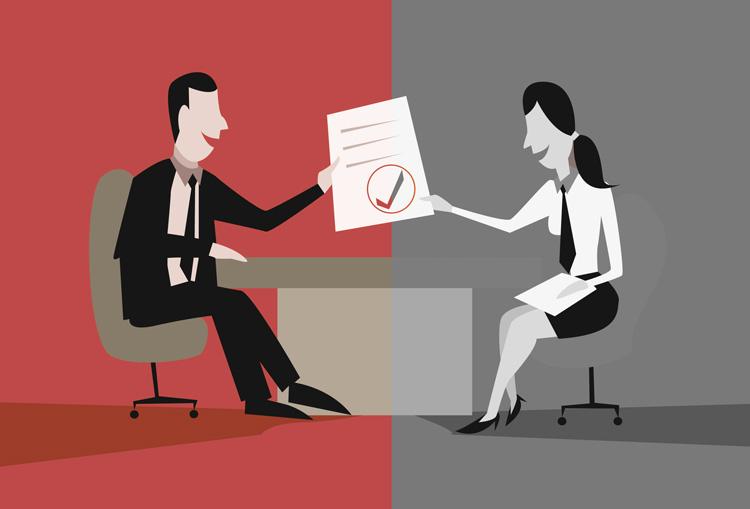 نبایدهای یک مصاحبه شغلی