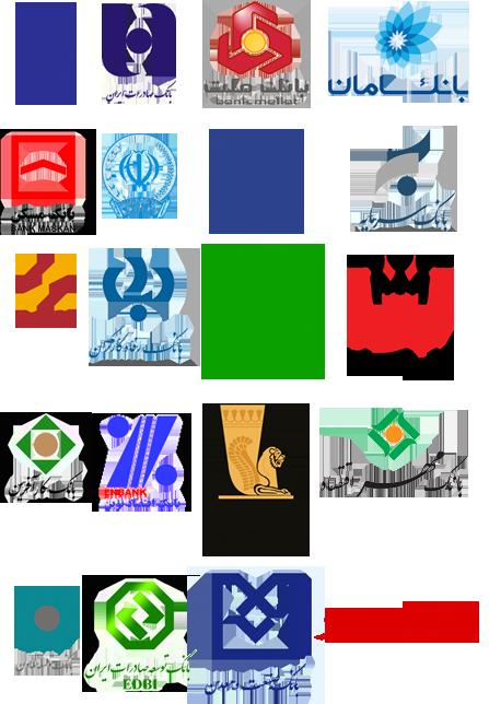 iranian_bank_logos